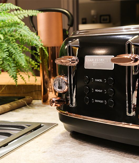 Rose Gold Toaster