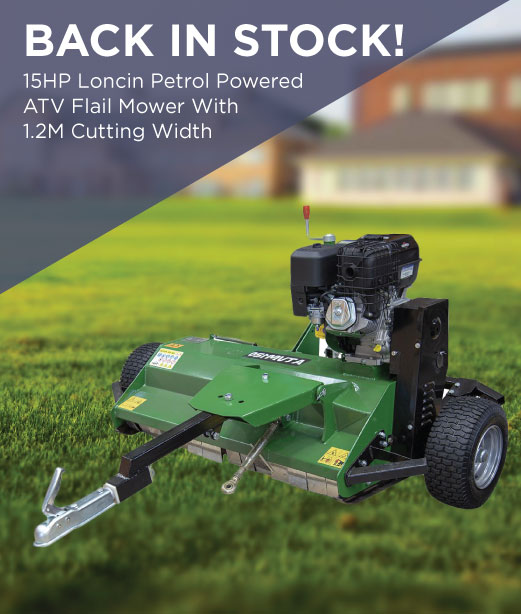 Back in stock Flail Mower