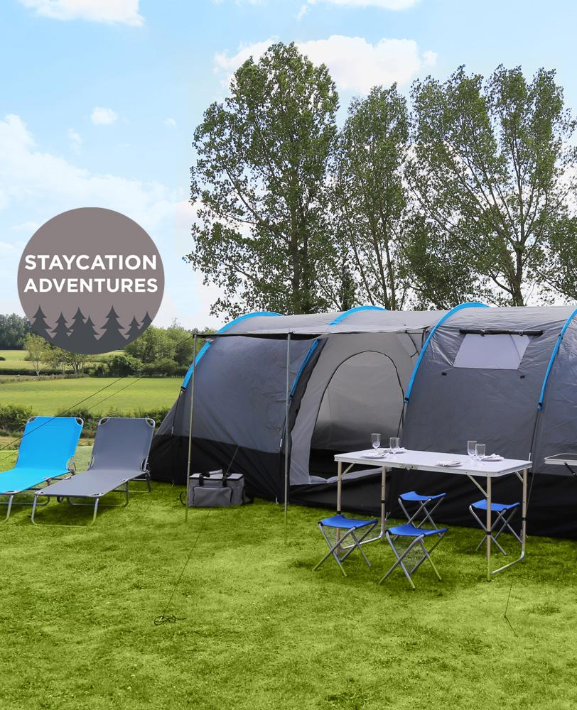 Camping Staycation